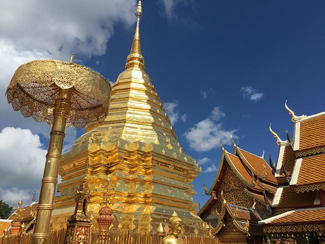Chiang Mai - wat phat doi suthep