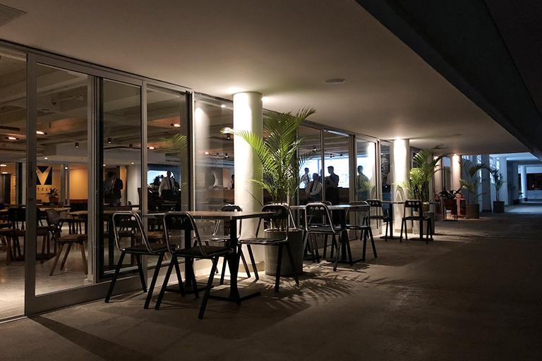 Restaurante Vista SP area externa