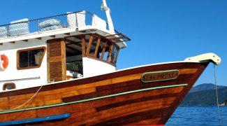 Gastronomia náutica e requintada sobe a bordo no Gastromar, em Paraty