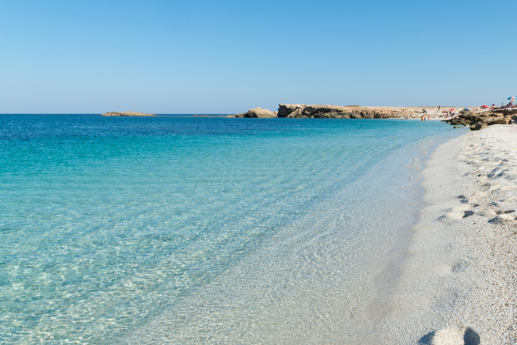 Spiaggia is Arutas, na Sardenha