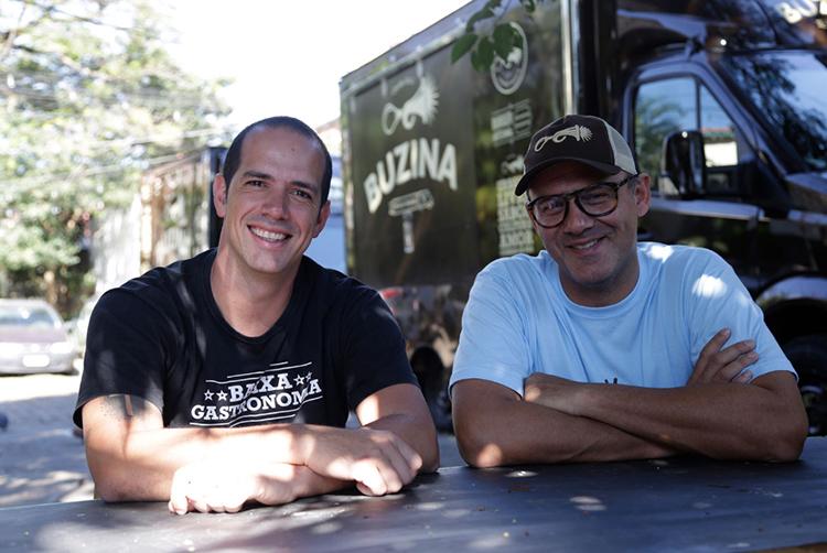 Márcio e Jorge, do Buzina Burger (Foto: divulgação)
