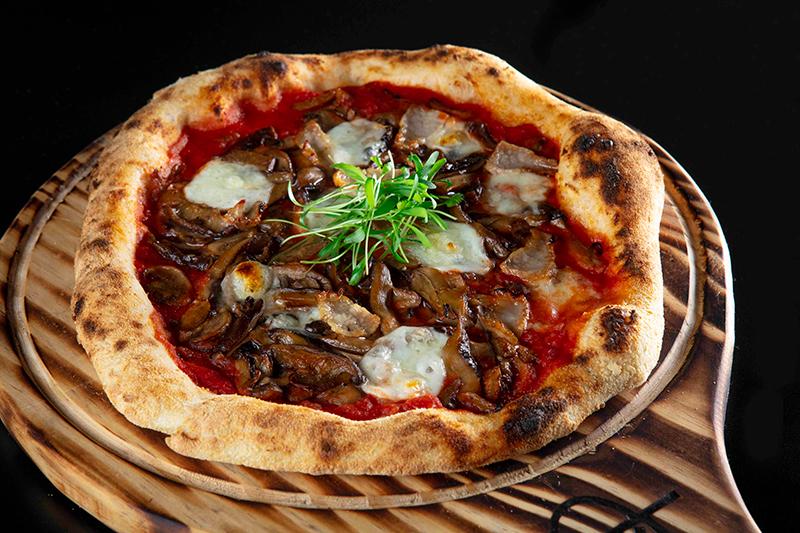 Pizza Cogu porc da QT Pizza (Foto: divulgação)