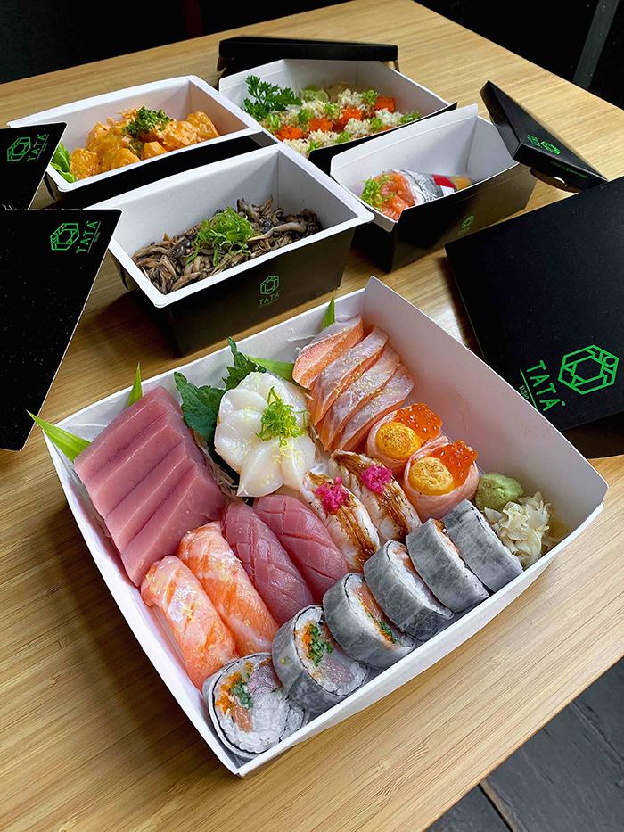 Combinado do Tatá Sushi (Foto: divulgação)