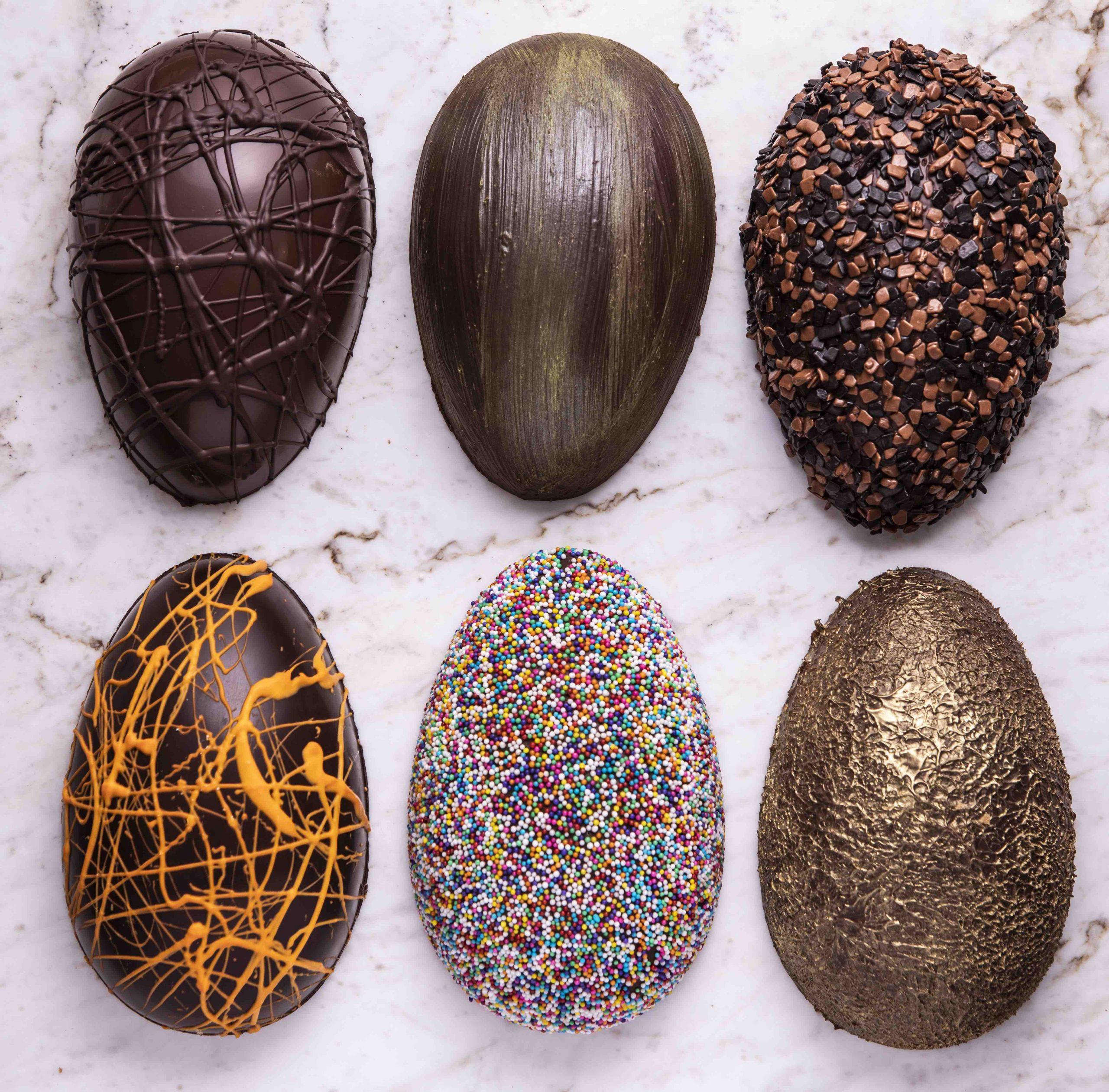 Confeitaria Dama: o cliente monta o ovo como desejar! (Foto: divulgação)