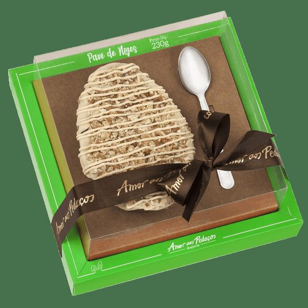 Ovo de colher de Pavê de Nozes da Amor aos Pedaços (Foto: reprodução site)