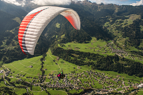 Destino de esportes radicais: Alpes Suiços (Foto: divulgação)