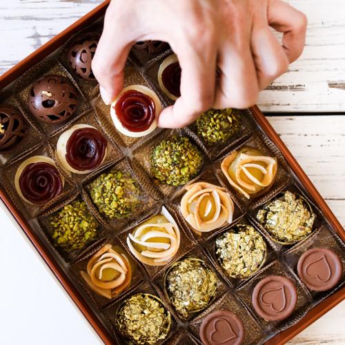 Caixinha de doces da Petite Fleur (Foto: divulgação)