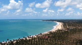 Praias paradisíacas nos arredores de Recife