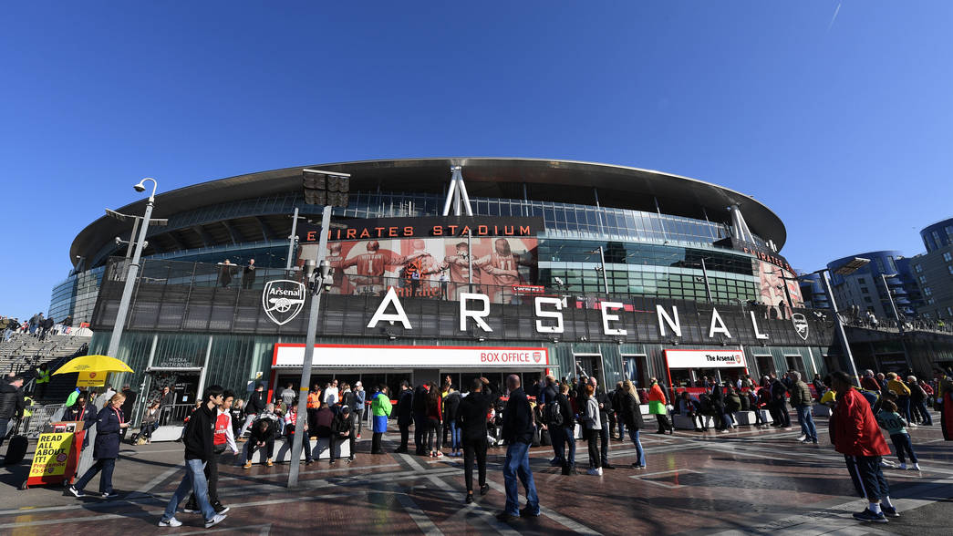 Emirates Stadium, Estádio do Arsenal, em Londres (Photo by David Price/Arsenal FC via Getty Images)