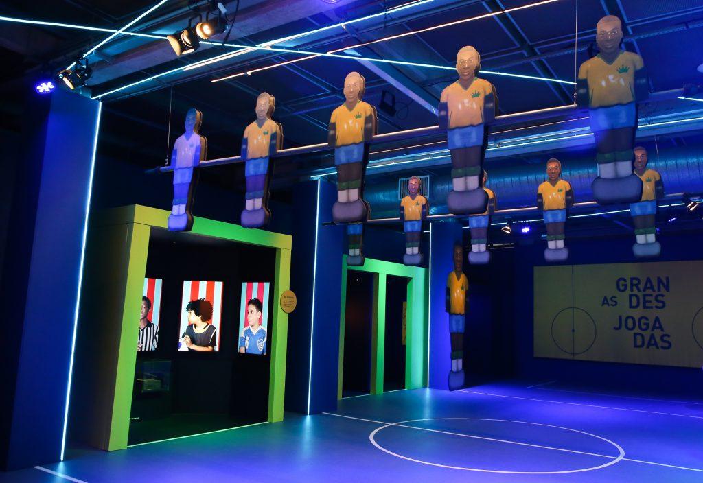 Exposição no Museu do Futebol em homenagem aos 80 anos do Pelé