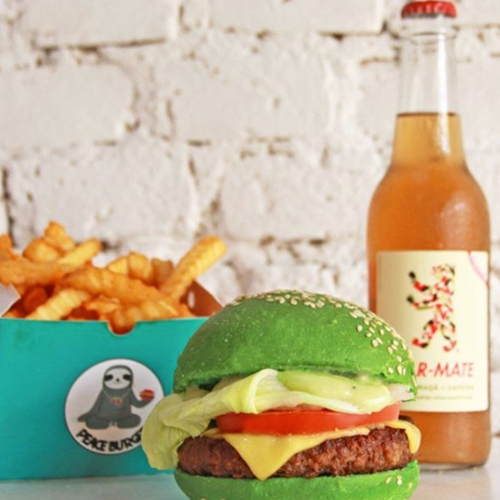 Peace Burger, hamburgueria vegetariana na Vila Madalena (Foto: reprodução Instagram)
