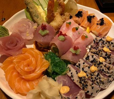 Takê restaurante japonês (Foto: reprodução Instagram)