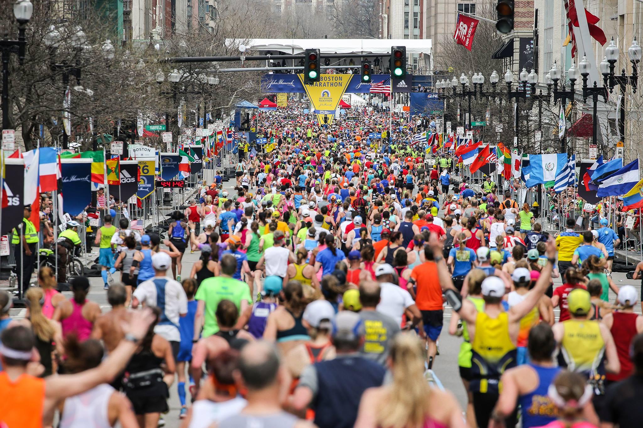 A Maratona de Boston é a mais antiga dentre as Majors e é o sonho de qualquer maratonista (Foto: Reprodução Facebook)