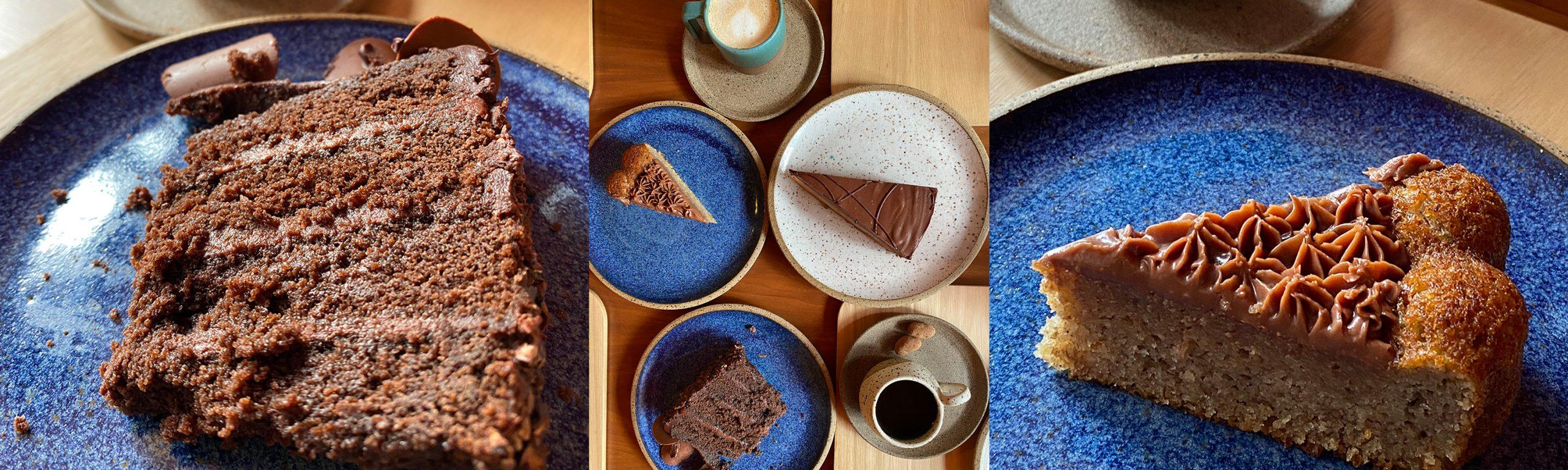 Cafeteria Dengo oferece bolos, salgados, café da manhã e brunch aos finais de semana (Fotos: Tina Bornstein)