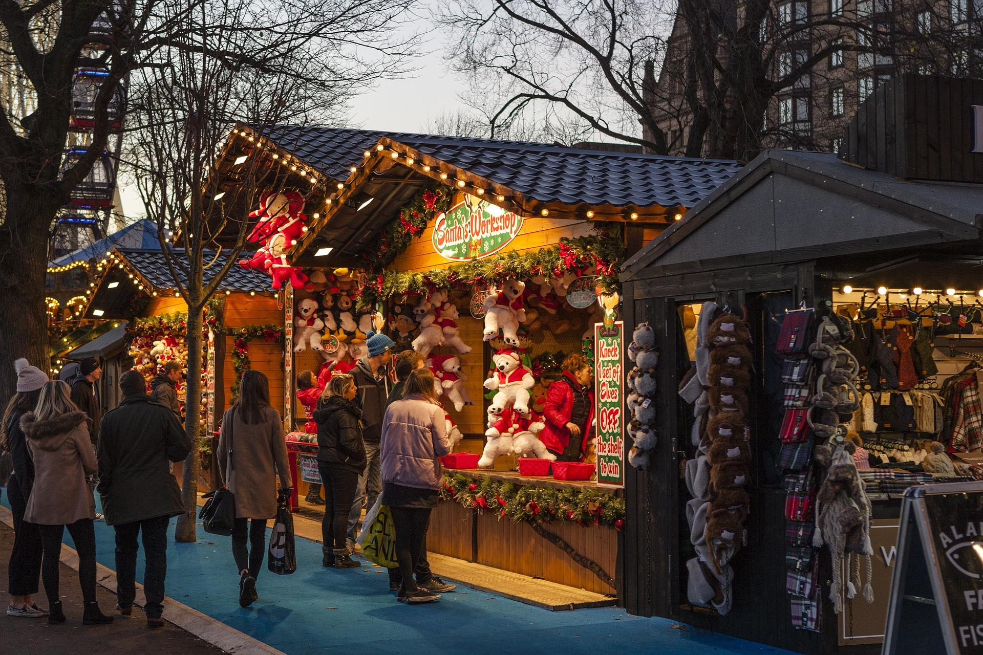 Tradicionais mercados de Natal devem abrir mesmo em meio à pandemia