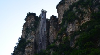O elevador externo mais alto do mundo e a inspiração para a paisagem de 'Avatar'