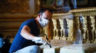 Palácio de Versalhes reabre na França, mas retorno de visitantes ainda é incerto