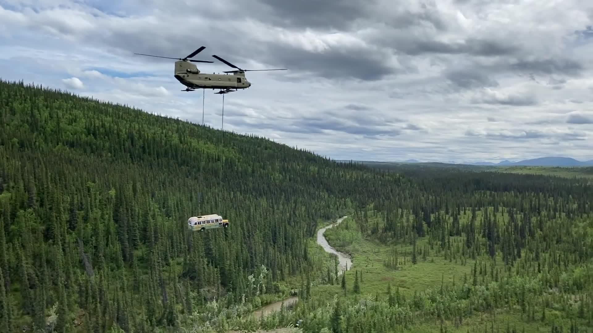 ônibus Alasca