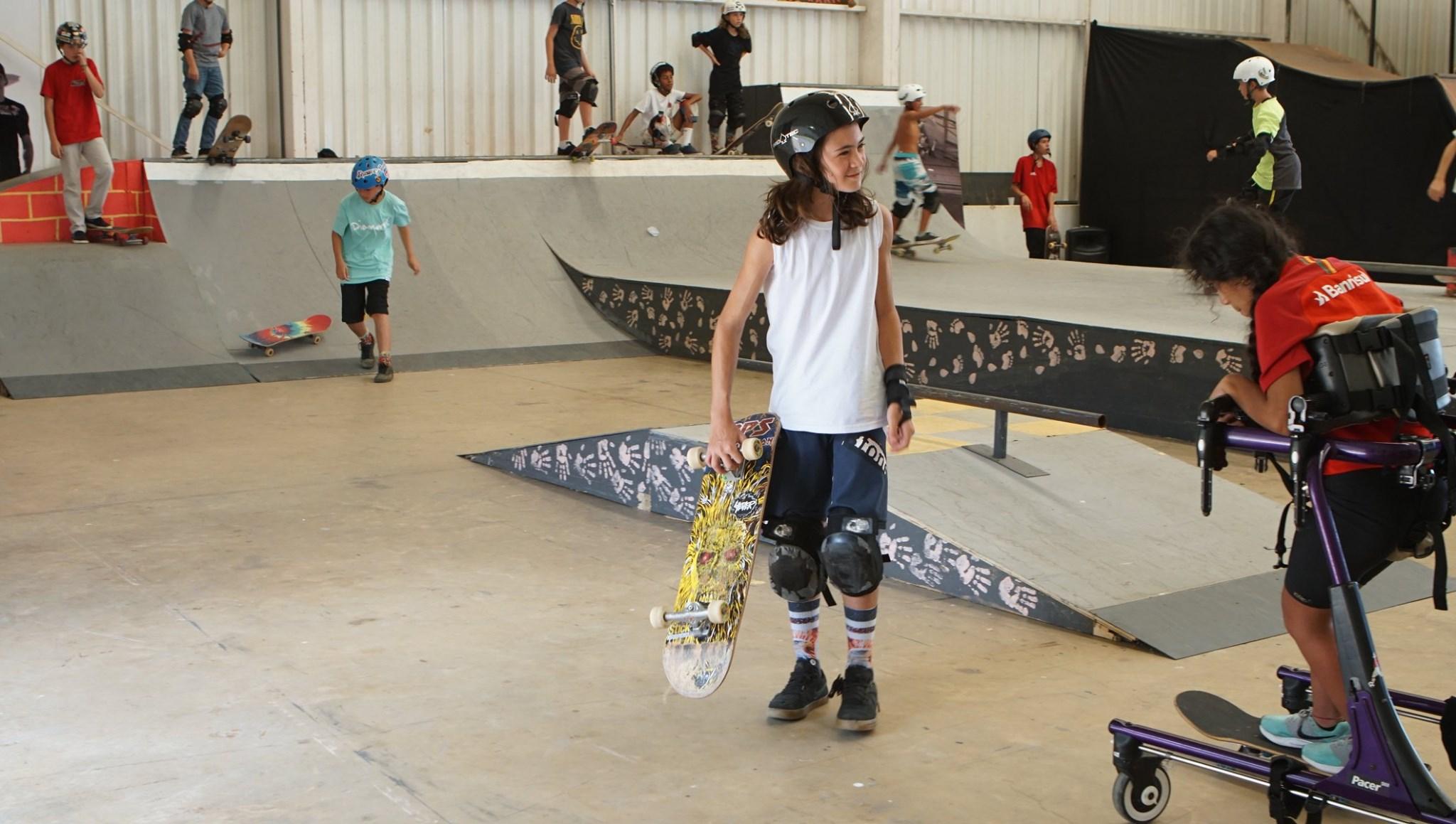 O Sandro Dias Camp é ideal para os apaixonados por skate e esporte (Foto: Reprodução Facebook)