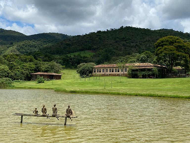 A Fazenda, casa do engenho, da Comuna do Ibitipoca