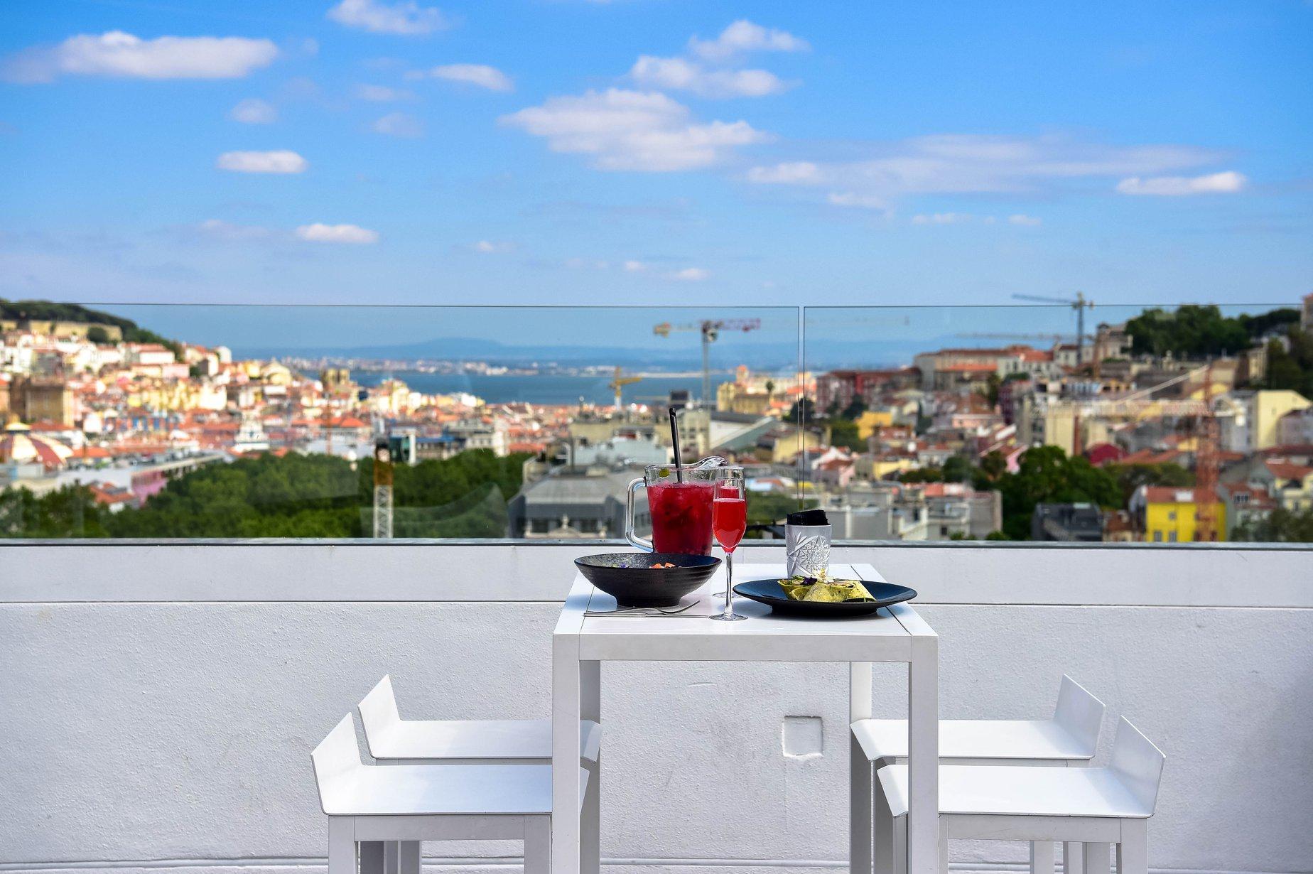 Rooftops dominam Lisboa (Foto: reprodução Instagram)