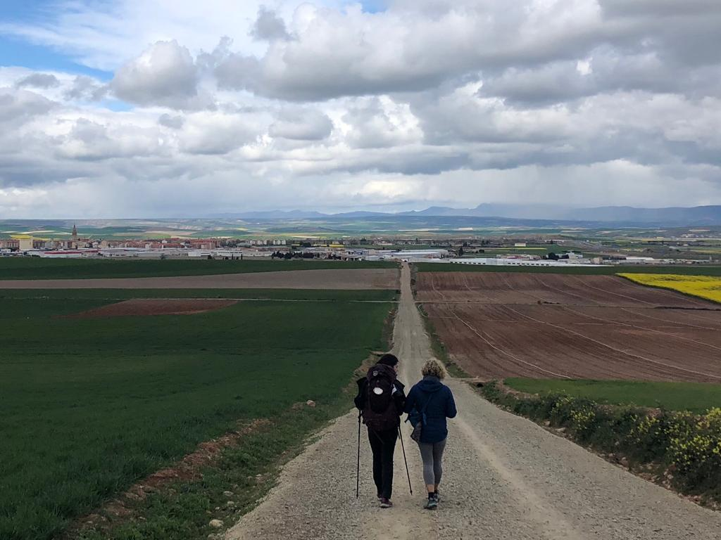 peregrino a Santiago de Compostela
