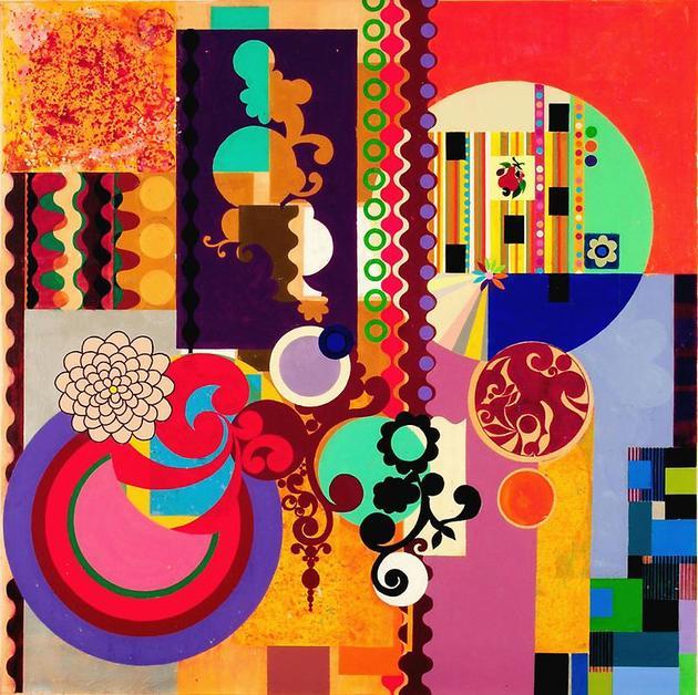 Obra Mulatinho, Beatriz Milhazes (Foto: reprodução site)