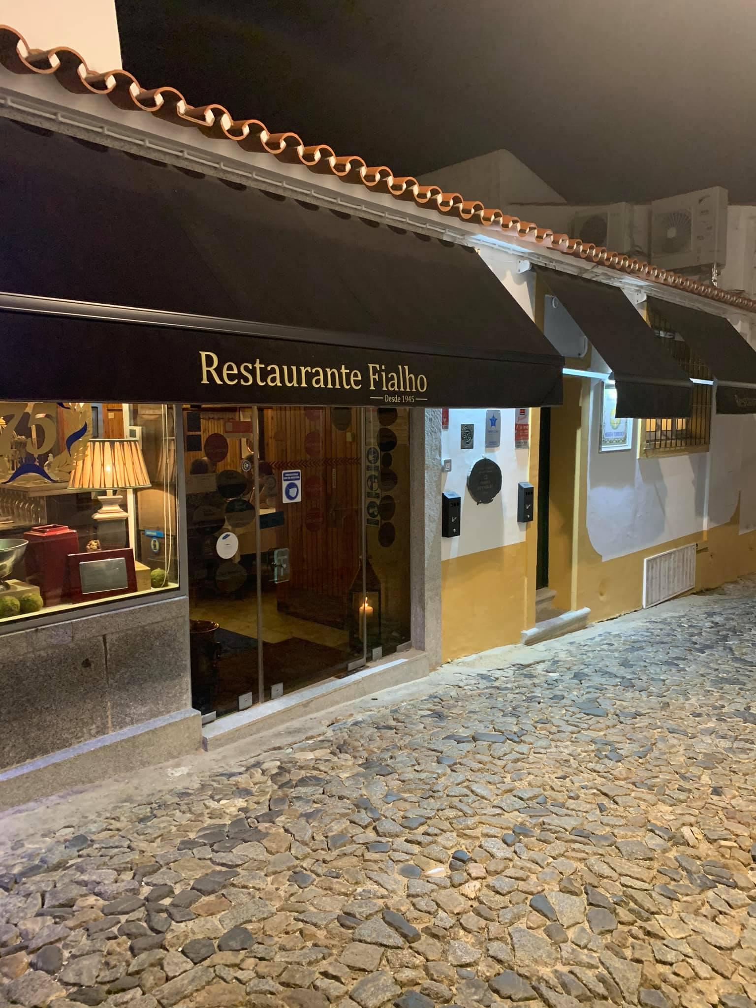 restaurante fialho alentejo portugal