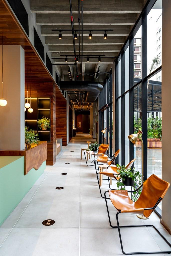 Recepção do novo Canopy by Hilton Jardins (foto: divulgação)