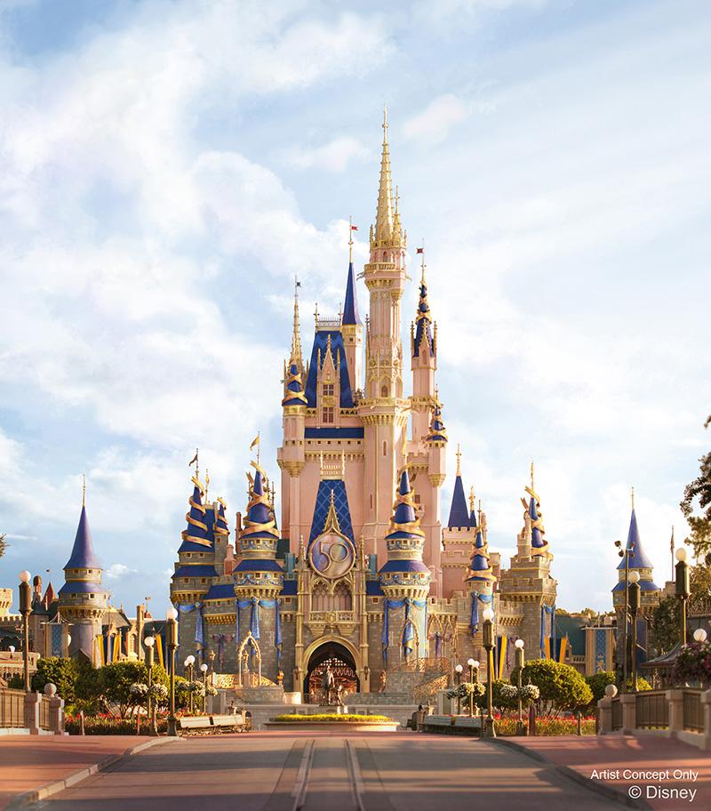 Complexo Walt Disney World comemora 50 anos (foto: divulgação)