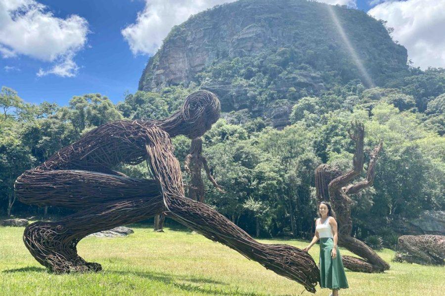 Daniela Filomeno na Comuna do Ibitioca