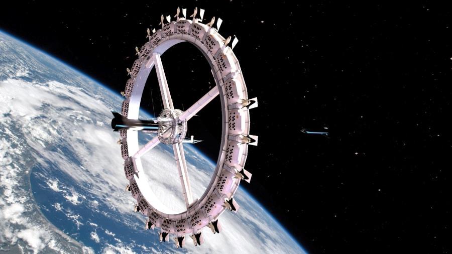Primeiro hotel espacial tem inauguração prevista para 2027