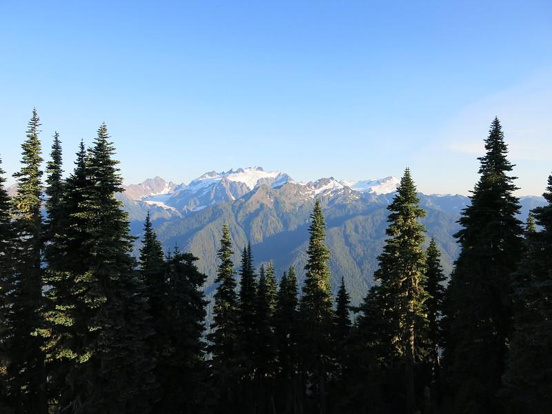Vista para o Monte Olimpo, no Olympic National Park
