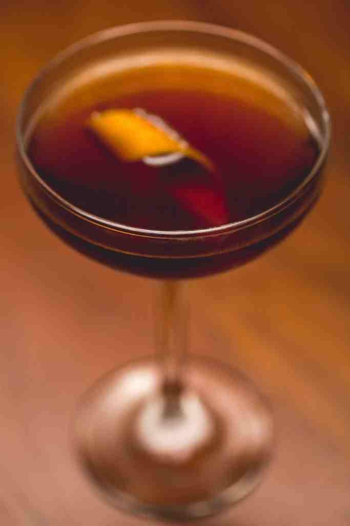 Drinque Brandy Giacon do Restaurante Animus (Foto: Thays Bittar)