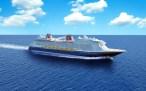 Disney Cruise anuncia novo navio para 2022