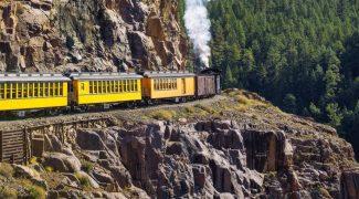 Viaje de trem por paisagens incríveis sem sair de casa