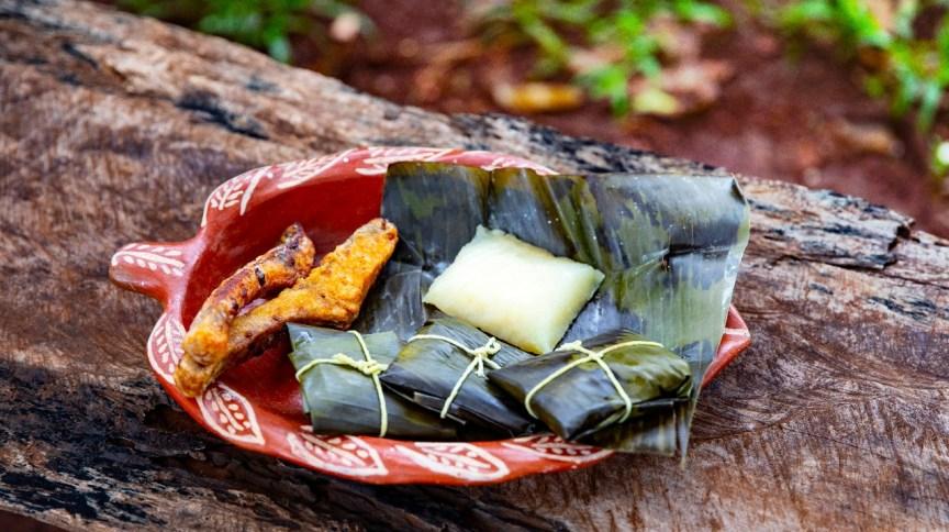 Hî-hî - alimentação indigena