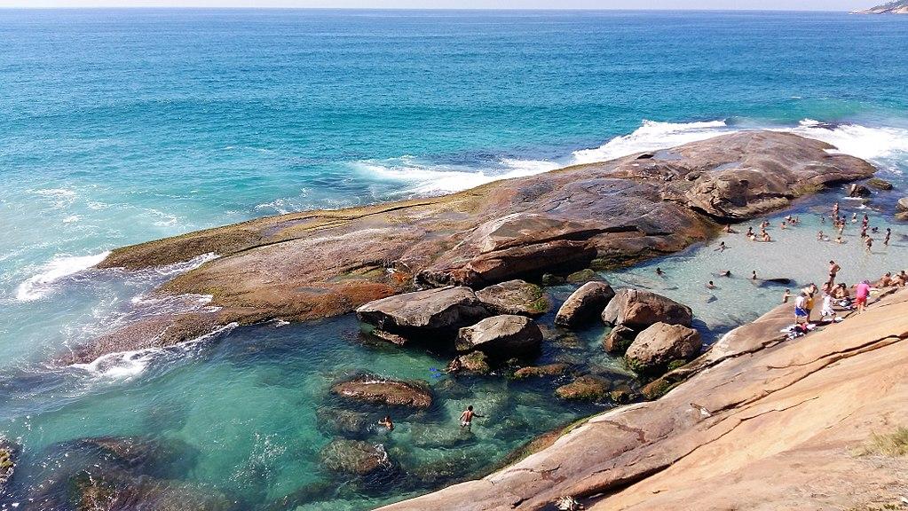 Foto da Praia do Secreto, no Rio de Janeiro