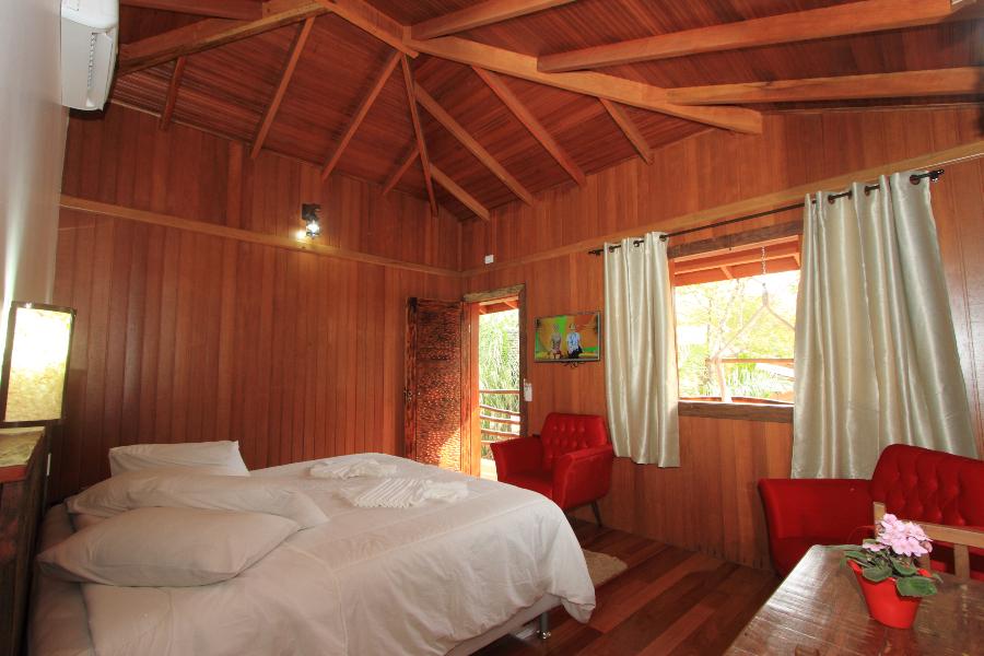Cabanas Casal, acomodação perfeita para casais do Hotel Cabanas