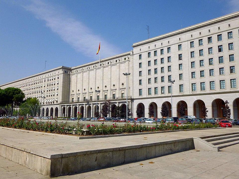 Novos Ministérios, em Madri