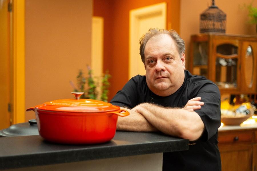 Chef Antônio Albaneze, do restaurante Mangaba