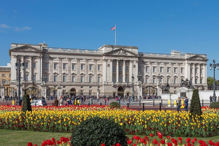 Palácio de Buckingham, em Londres, na Inglaterra