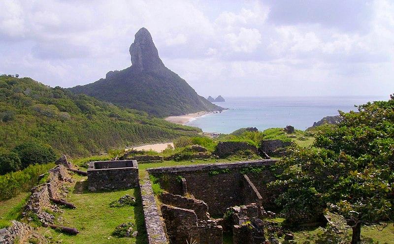 Fernando de Noronha: Forte de Nossa Senhora dos Remedios