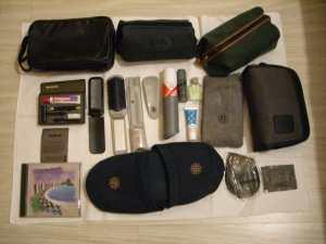 Objetos mais recentes distribuídos em voos da Varig