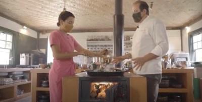 Receita: aprenda a preparar a Paella vegetariana típica da Comuna do Ibitipoca