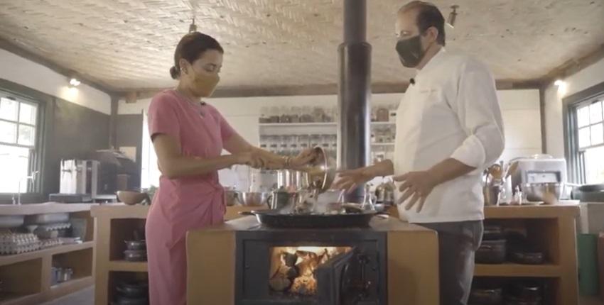 Aprenda a preparar a Paella vegetariana típica da Comuna do Ibitipoca