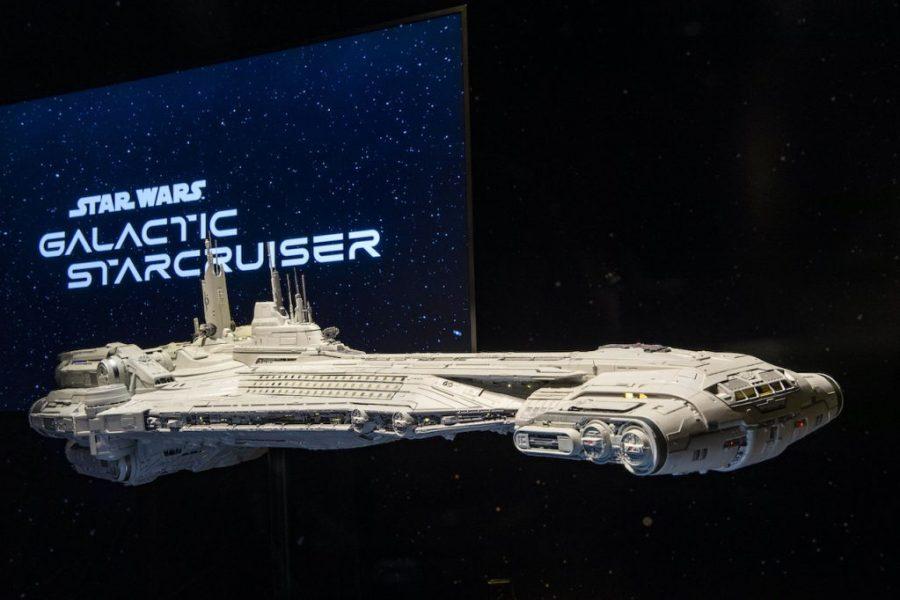 Modelo de como será o hotel de Star Wars em Orlando