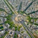 Paris, a cidade luz, como você nunca viu: de cima!