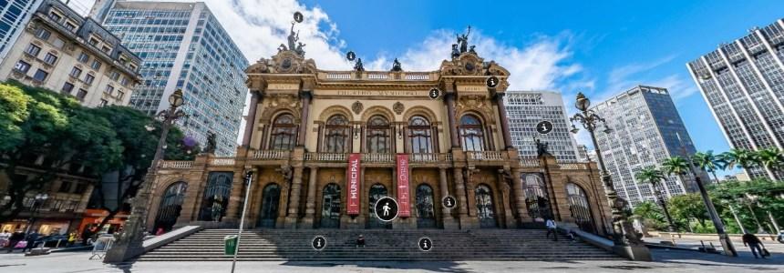 Theatro Municipal de São Paulo ganha novo tour virtual interativo
