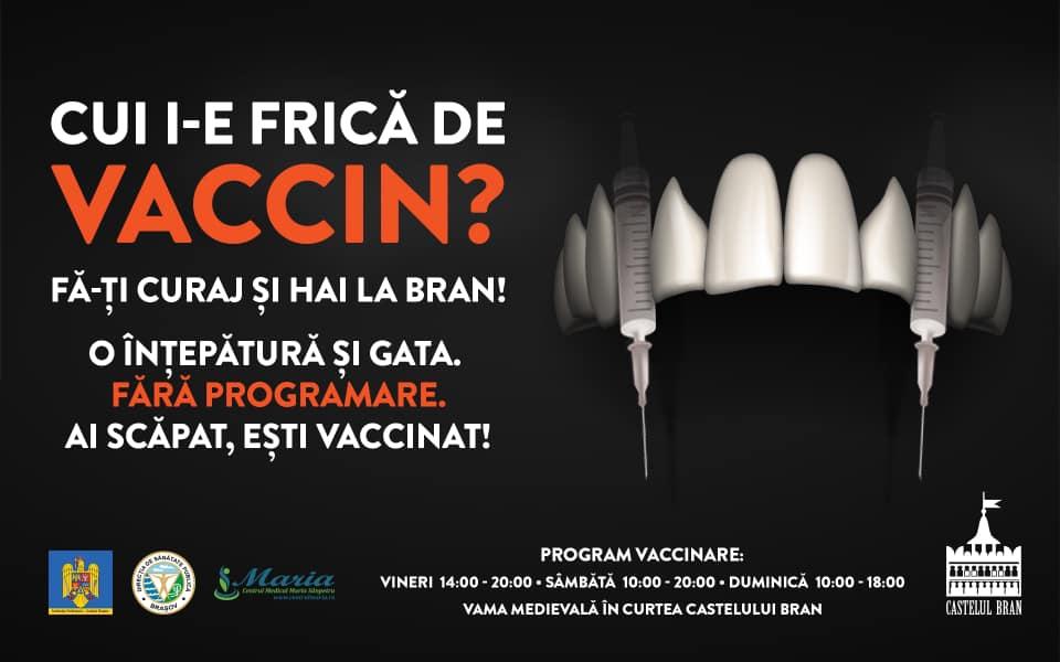Campanha de vacinação no castelo de Drácula, na Romênia